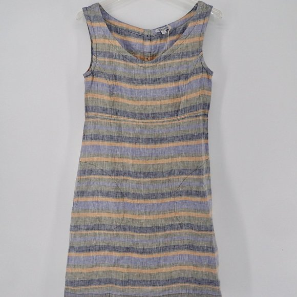 Toad&Co Dresses & Skirts - Toad & Co Dress XS Sheath Style Linen Knee Length